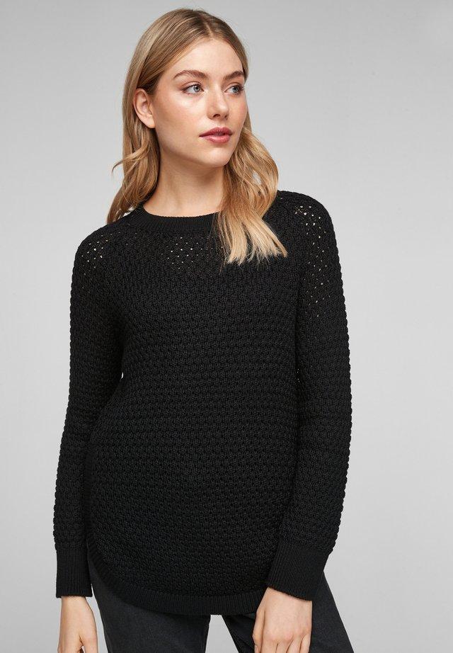 Trui - black knit