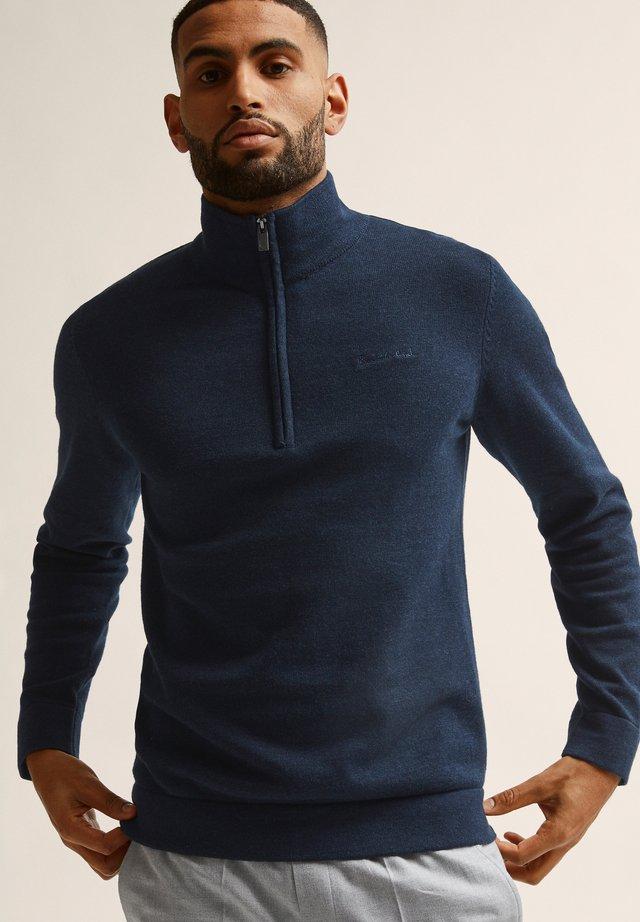 Neule - navy blazer