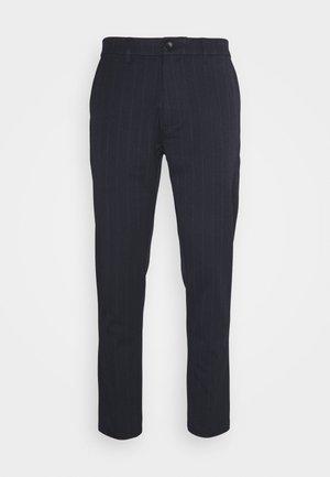 UGGE - Trousers - dark saphire melange
