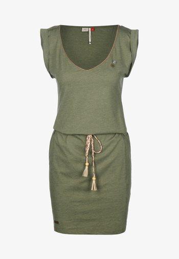 KLEID SLAVKA W - Vestido ligero - olive
