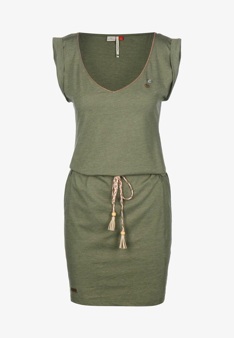 Ragwear - KLEID SLAVKA W - Žerzejové šaty - olive