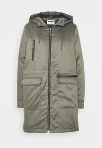 Noisy May - NMMISSI  LONG JACKET - Winter coat - kalamata - 3