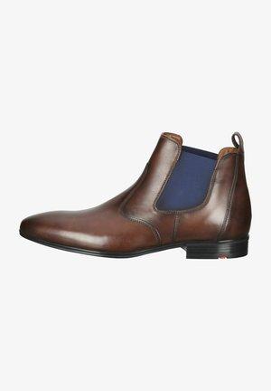 Korte laarzen - cigar/rot