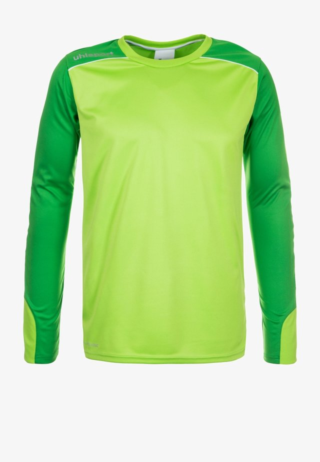TOWER - Goalkeeper shirt - bright green/white
