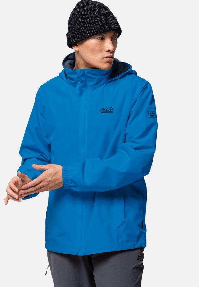 Hardshell jacket - brilliant blue
