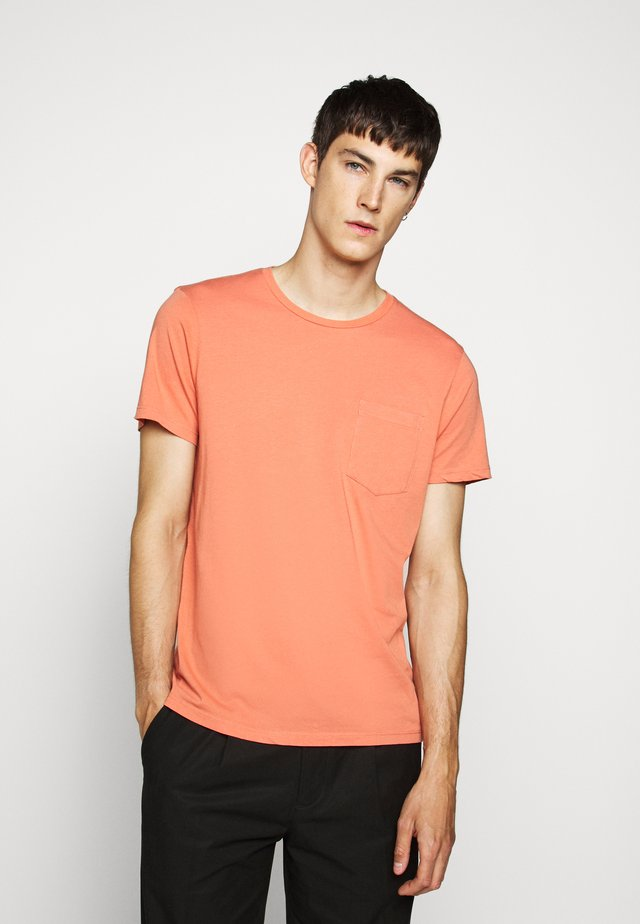 WILLIAMS  - T-shirt basic - coral