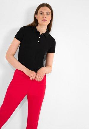 MIT KRAGEN - Polo shirt - schwarz