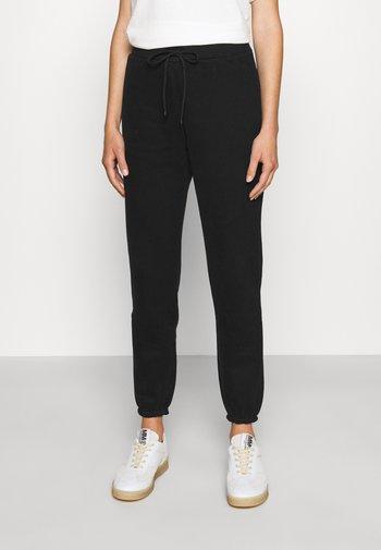 VISIVO - Teplákové kalhoty - nero