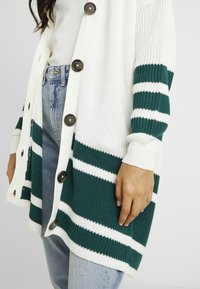 ONLY Tall - ONLVIONA CARDIGAN - Cardigan - cloud dancer/forrest biome - 5