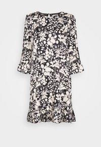Rebecca Minkoff - FEDERICA DRESS - Denní šaty - black/cream - 8