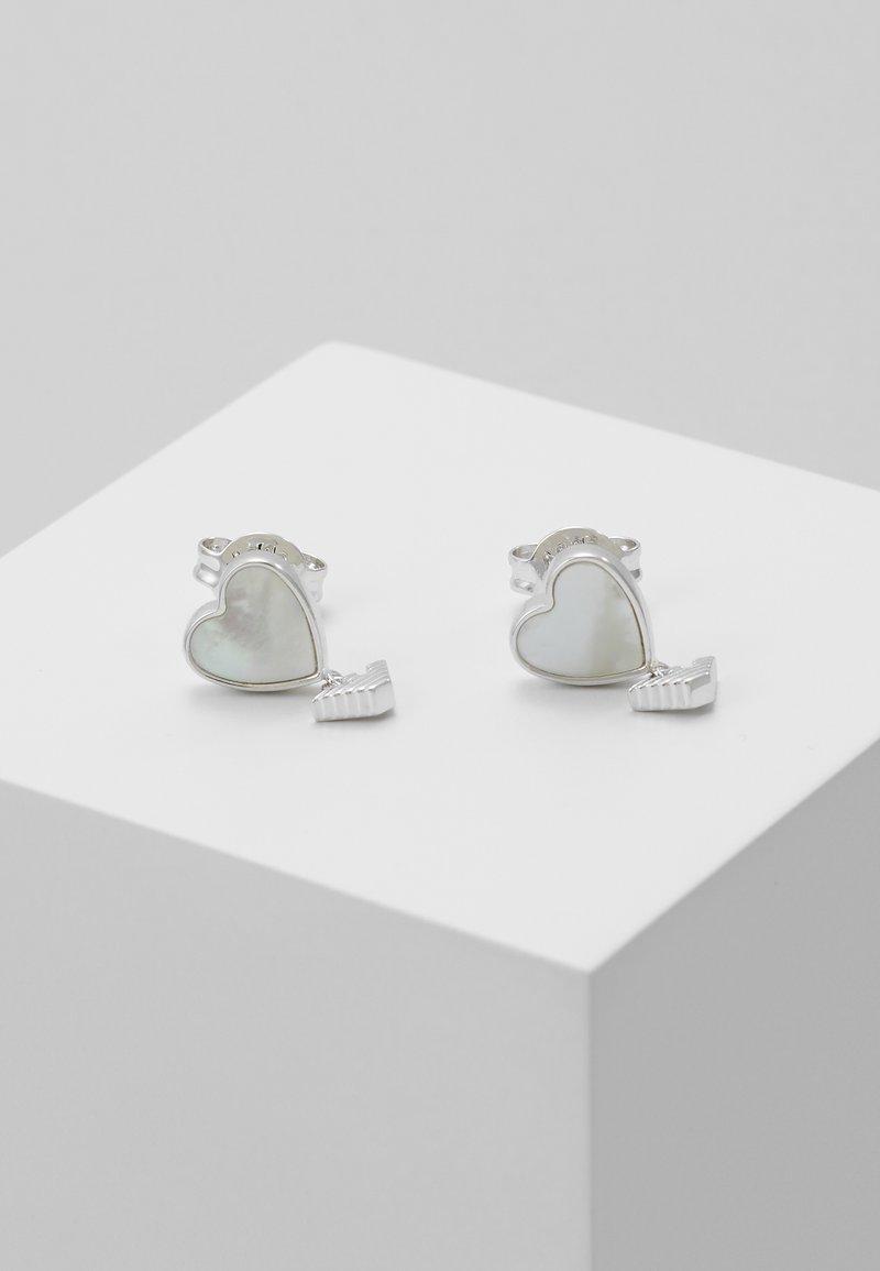 Emporio Armani - Boucles d'oreilles - silver-coloured