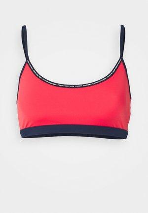 TAPE BRALETTE - Bikini top - radiant carmine
