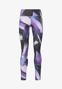 Reebok - REEBOK LUX BOLD LEGGINGS - Leggings - purple - 5