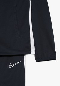 Nike Performance - DRY ACADEMY SET - Tracksuit - obsidian/white/white - 4