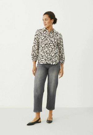 ELEINAS - Camisa - black scratch print