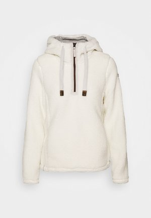 HAUKIVUORI - Forro polar - natural white