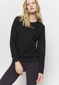 adidas Performance - CREW - Sweatshirt - black - 3