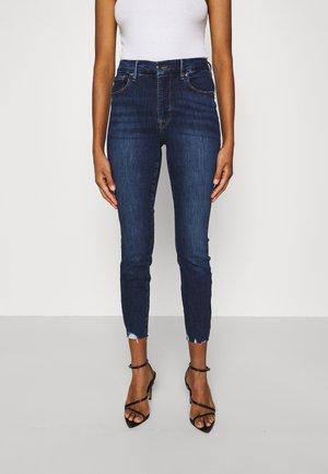 LEGS CROP - Slim fit jeans - blue