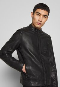 Belstaff - RACER - Leather jacket - black - 3