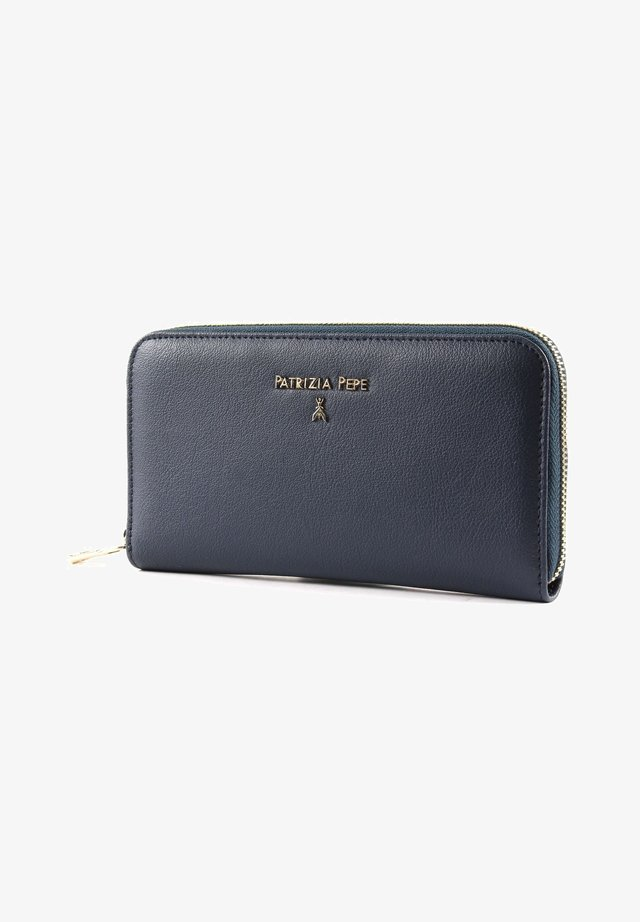 DAILY LOCK - Wallet - steel azure