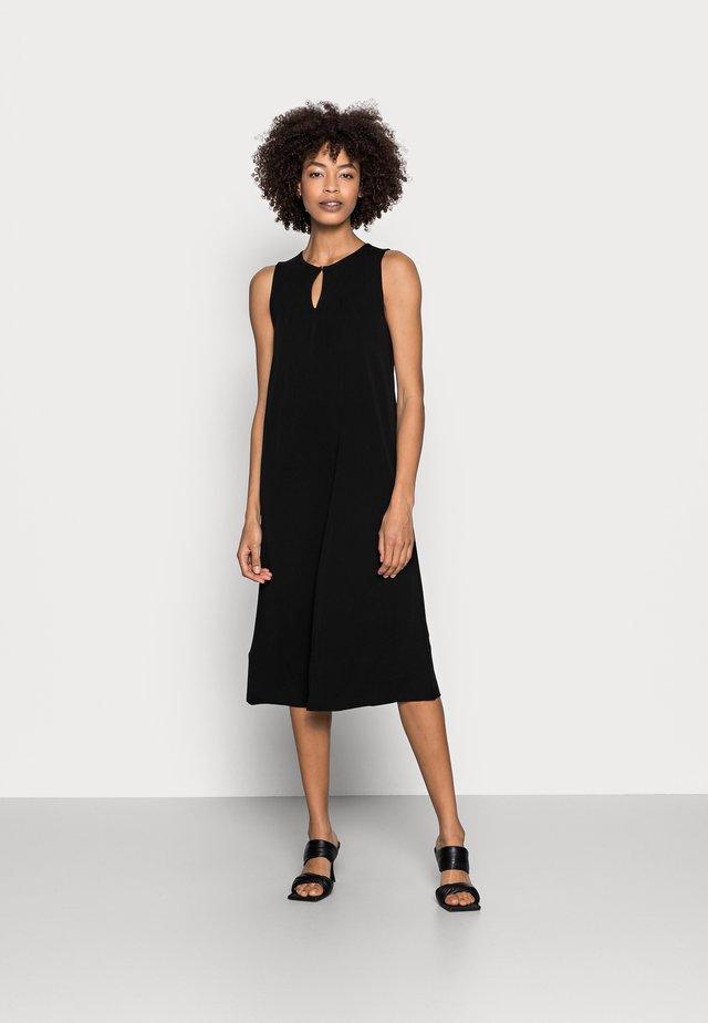 JERSEY DRESS - Korte jurk - black