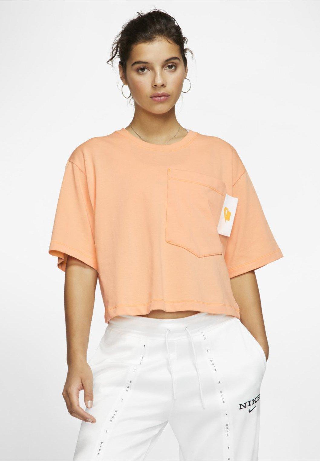 Damen NIKE SPORTSWEAR KURZARM-KURZOBERTEIL FÜR DAMEN - T-Shirt print