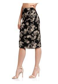 Vive Maria - TROPICAL HAWAII - Pencil skirt - schwarz allover - 3