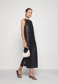 DEPECHE - LONG DRESS - Denní šaty - black - 1
