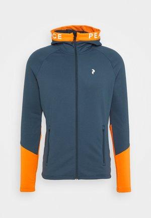 RIDER ZIP HOOD - Zip-up hoodie - blue steel
