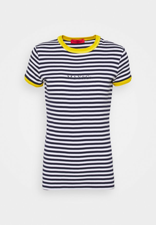 DALMATA - T-Shirt print - navy blue