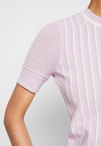 3.1 Phillip Lim - MOCK NECK - Print T-shirt - lavender - 7