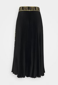 Versace Jeans Couture - SKIRT - A-line skirt - black/gold - 7