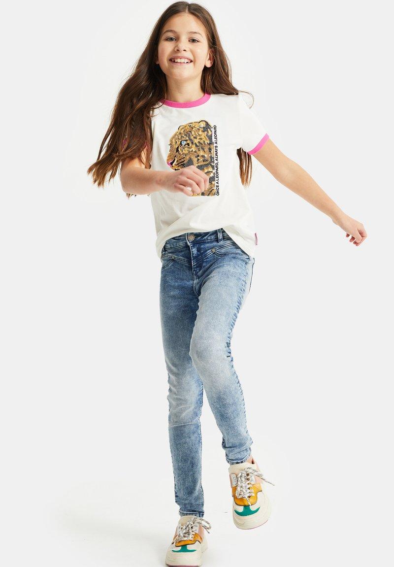 WE Fashion - T-shirts print - white