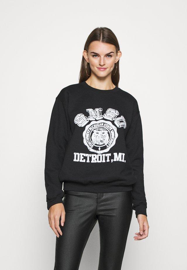 COLLEGE - Sweatshirt - black