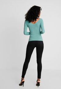 Even&Odd - Stickad tröja - turquoise - 2