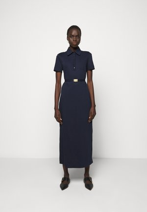 POLO DRESS - Maxi šaty - navy