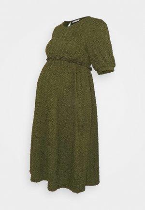 MLCALIFORNIA DRESS - Sukienka z dżerseju - deep lichen green