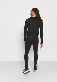 adidas Performance - LONG TECHFIT PRIMEGREEN SPORTS LEGGINGS - Tights - black - 2