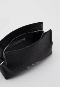 Calvin Klein - CROSSBODY - Across body bag - black - 2