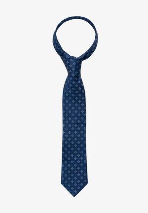 Tie - marine/blau