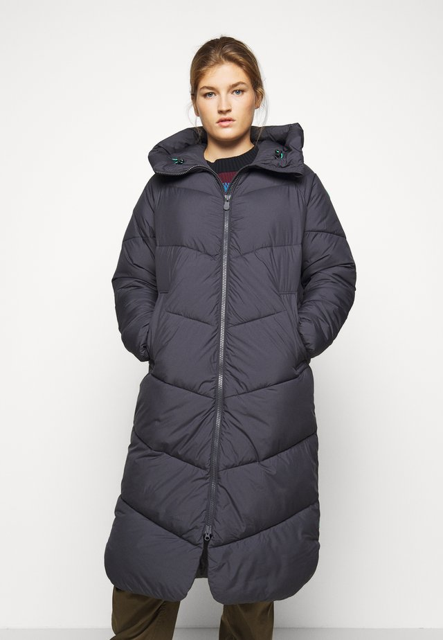 Winter coat - ebony grey