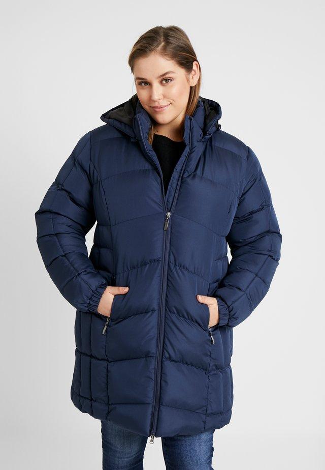 PADDED LONGLINE COAT - Winter coat - navy