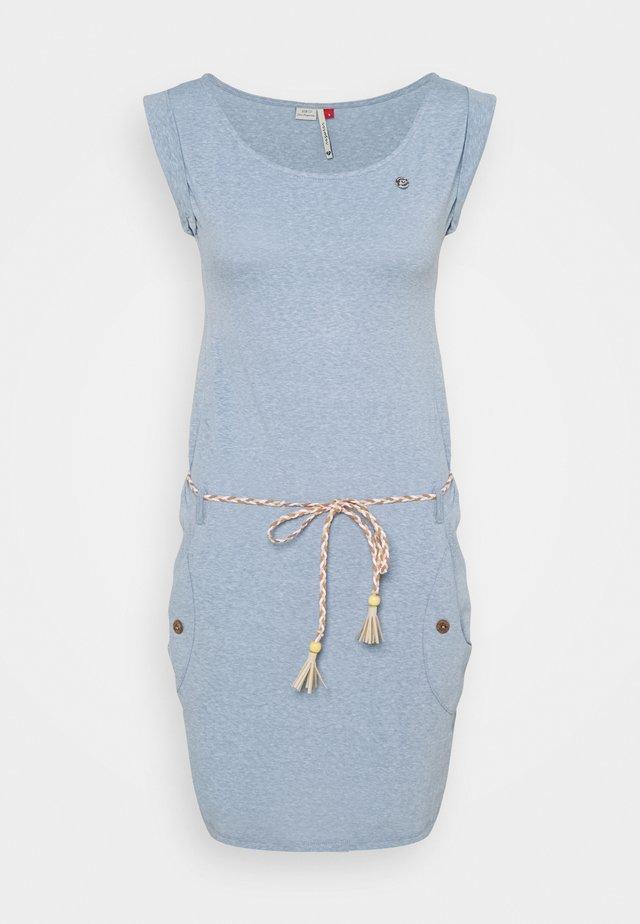 Etui-jurk - dusty blue
