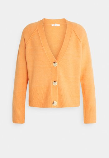 DISONA - Cardigan - orange peel