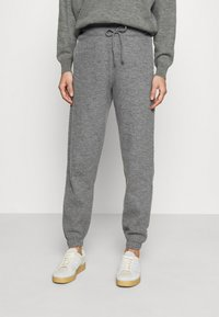 American Vintage - TADBOW - Tracksuit bottoms - gris chine - 0