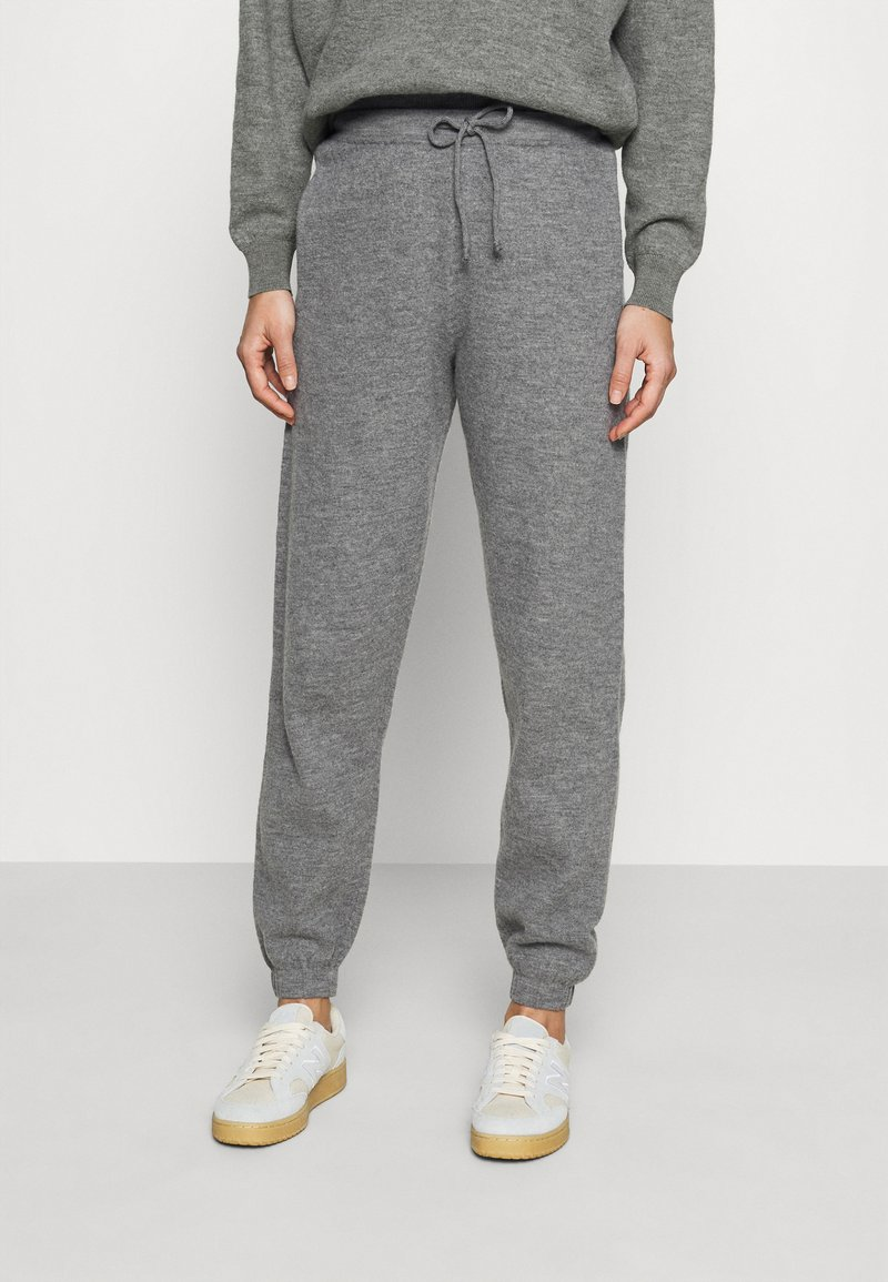 American Vintage - TADBOW - Tracksuit bottoms - gris chine