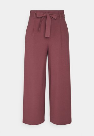 ONLHERO LIFE CULOTTE - Trousers - apple butter