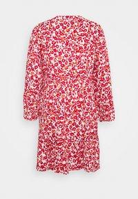 JDY - JDYCHAR DRESS - Day dress - cloud dancer/red - 1
