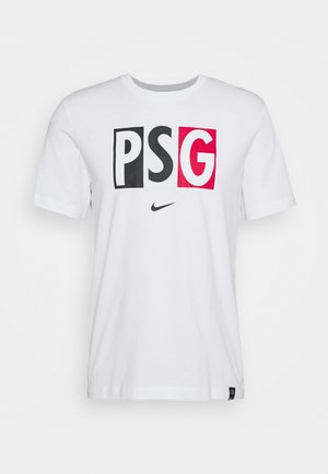 PARIS ST GERMAIN TEE VOICE - Club wear - white