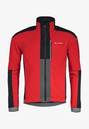CEREDA  - Soft shell jacket - mars red
